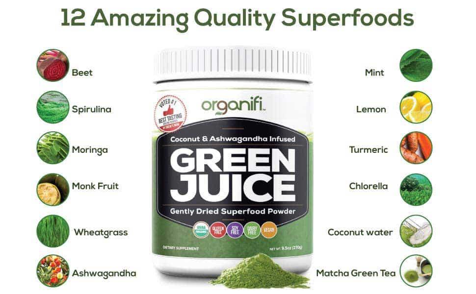 organfi green juice reviews